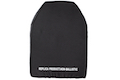 PTS SAPI Dummy Plates (Front and Back) - Large (Black)