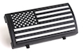 Custom Gun Rails (CGR) Aluminum Rail Cover (PVC American Flag / Black and White / Stars Left)<font color=yellow> (Summer Sale)</font>
