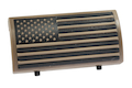 Custom Gun Rails (CGR) Aluminum Rail Cover (PVC American Flag / TAN / Stars Left) <font color=yellow>(Clearance)</font>