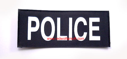 MilSpex Police Patch - Small<font color=red> (Clearance)</font>