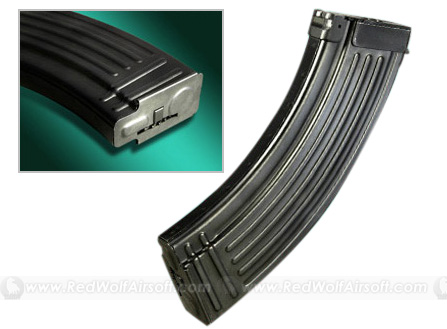 Real Sword (RS) AK/Type 56 500rds Steel Magazine