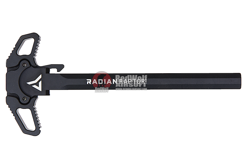 PTS Radian Raptor Ambidextrous Charging Handle for Tokyo Marui M4 MWS GBBR - Black