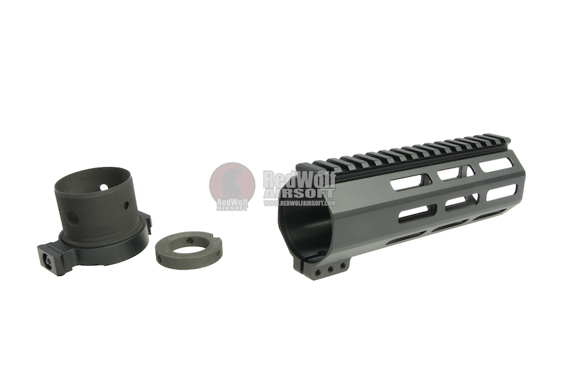 RGW M4 QD Takedown System MLOK Handguard for WE /VFC M4/ AR15 GBBR - Black (7 inch)