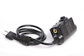 Roger Tech 409 Tactical PTT - ICOM Version for all NATO Standard Headset with Nexus TP-120