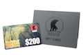 Redwolf USD 200 Gift Card <font color=yellow>(Clearance)</font>