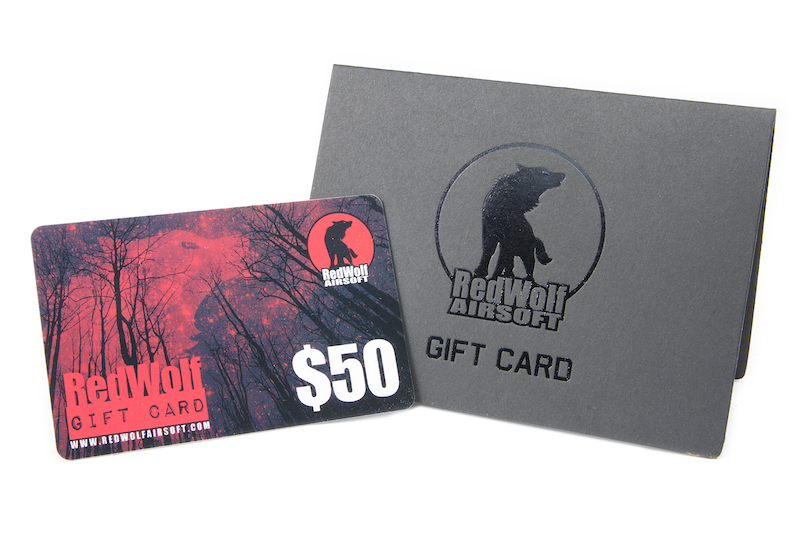 Redwolf USD 50 Gift Card <font color=yellow>(Clearance)</font>