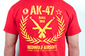 RedWolf Airsoft High Quality T-shirts Classic Rifle series - AK-47 (Size: Medium)