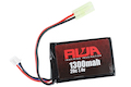 RWA 7.4V 1300mAh (20C) PEQ LiPo Rechargeable Battery (Small Tamiya)