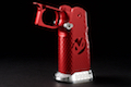 Airsoft Surgeon RWA Infinity CNC Aluminum Aggressive Mobius Grip Set - Crimson Red