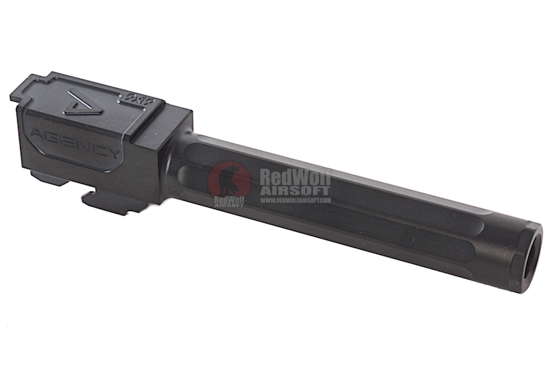 RWA Agency Arms Outer Barrel Black Nitride for Tokyo Marui Model 17