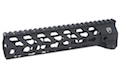 RWA Fortis SWITCH 556 Rail System - 9 inch KeyMod Black for M4 AEG Series