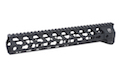 RWA Fortis SWITCH 556 Rail System - 12 inch KeyMod Black for M4 AEG Series