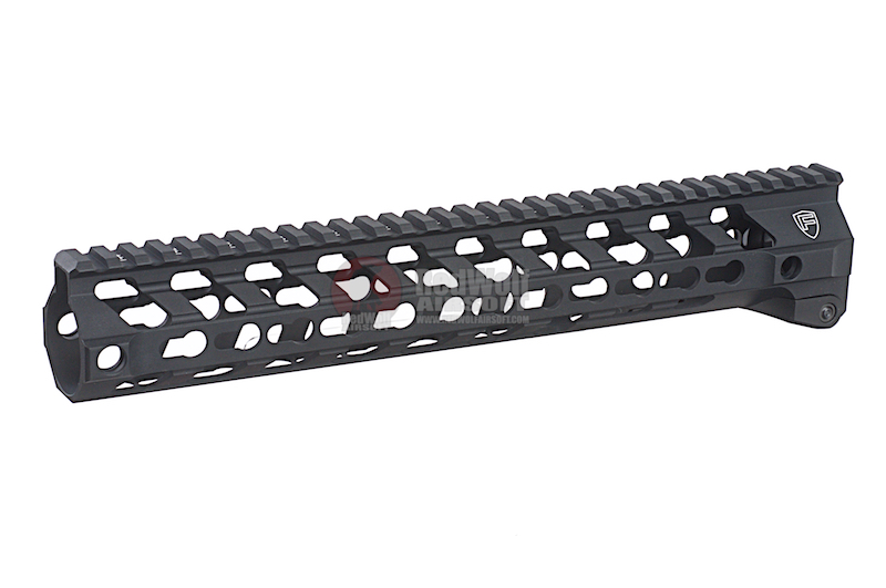 RWA Fortis SWITCH 556 Rail System - 12 inch KeyMod Black for M4 AEG & GBB Series
