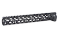 RWA Fortis SWITCH 556 Rail System - 14 inch KeyMod Black for M4 AEG Series