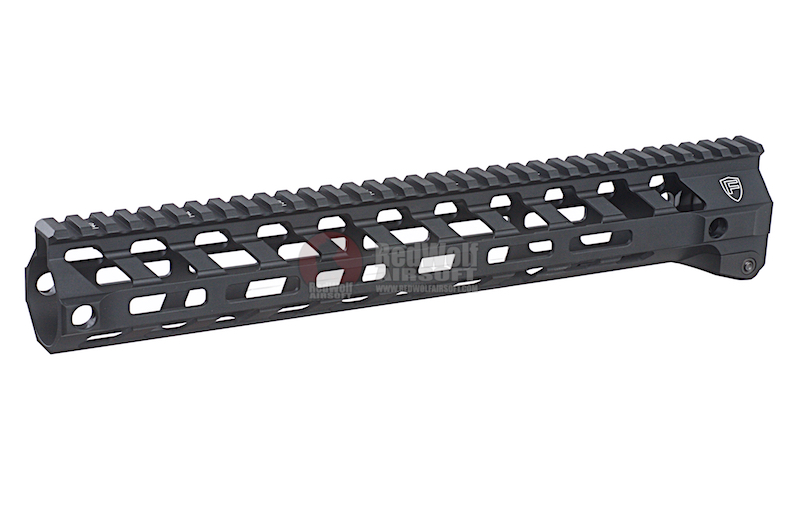 RWA Fortis SWITCH 556 Rail System - 13 inch MLOK Black for M4 AEG Series