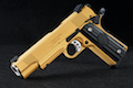 RWA Nighthawk GRP Recon - CNC Steel Gold Cerakote Limited Edition
