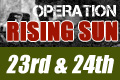 Double Tickets - Operation Rising Sun <font color='green'>(Green Player - Saturday & Sunday with 1 Meal/Day)</font>
