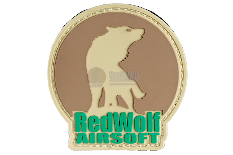 Redwolf Logo Hook and Loop PVC Patch (Multicam)