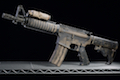 RWC Inokatsu COLT M4 CQB Gas Blowback Rifle w/ PEQ (Battleworn Cerakote Version)