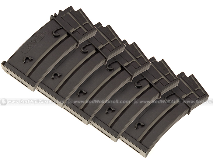Shooter Model 36 140rd Magazine Box Set (5pcs)