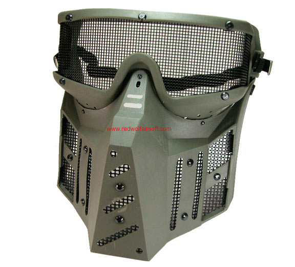 Sansei Mask Deluxe - Metal Mesh Screen(SWG-3)