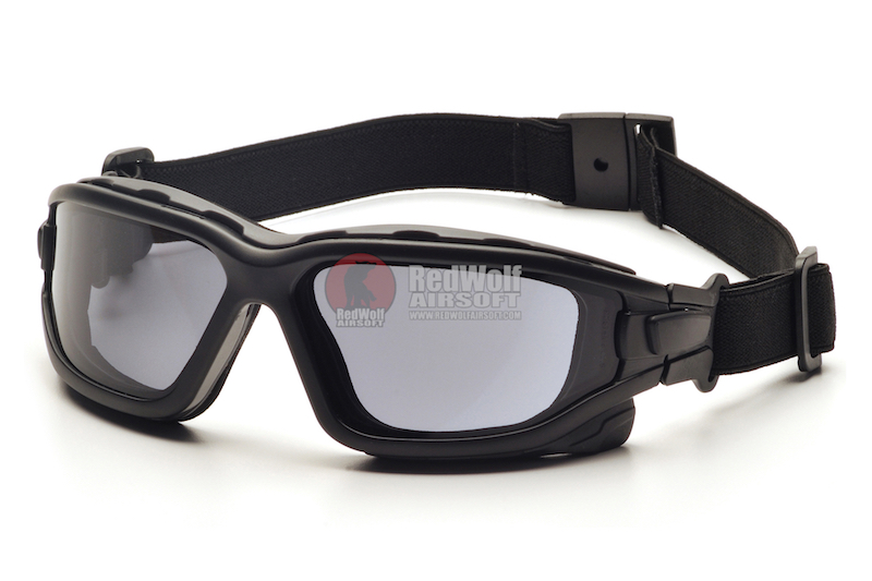 Pyramex I-Force Slim Safety Goggle Gray Dual Anti-Fog Lens with Black Temples/Strap