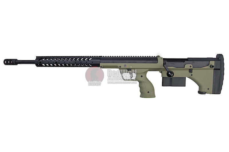 Silverback SRS A1 (26 inches) Pull Bolt Long Barrel Ver. Licensed by Desert Tech - OD (Left Hand)