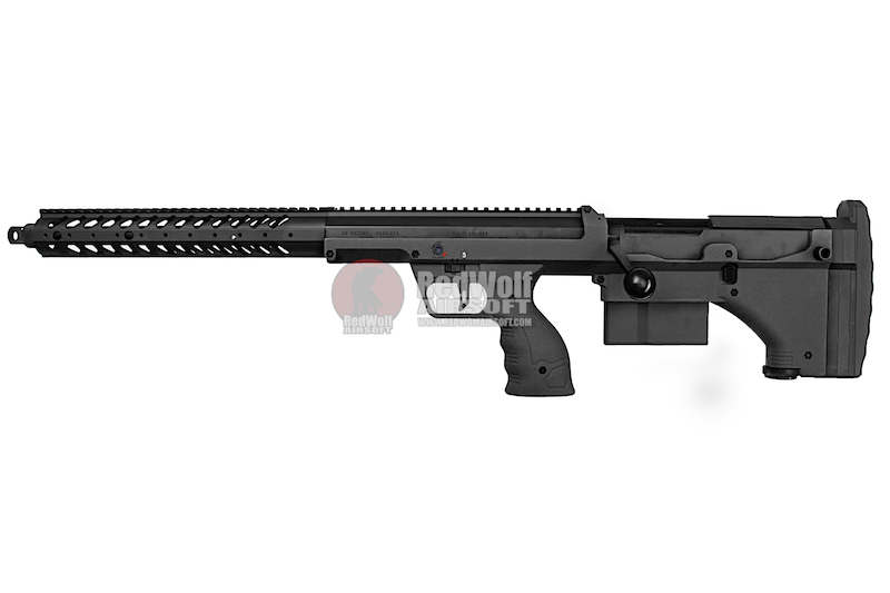 Silverback SRS A1 (22 inches) Pull Bolt Standard Ver. Licensed by Desert Tech - BK (Left Hand)