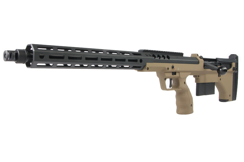 Silverback SRS A2/M2 (22 inch Barrel) Licensed by Desert Tech - FDE (Left Hand)