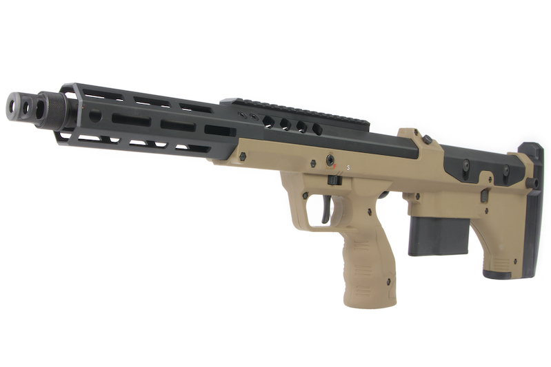 Silverback SRS A2/M2 Covert (16 inch Barrel) Licensed by Desert Tech - FDE