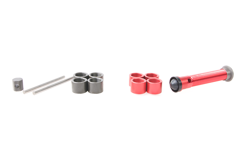 Silverback SRS Variable Mass Piston (Red)
