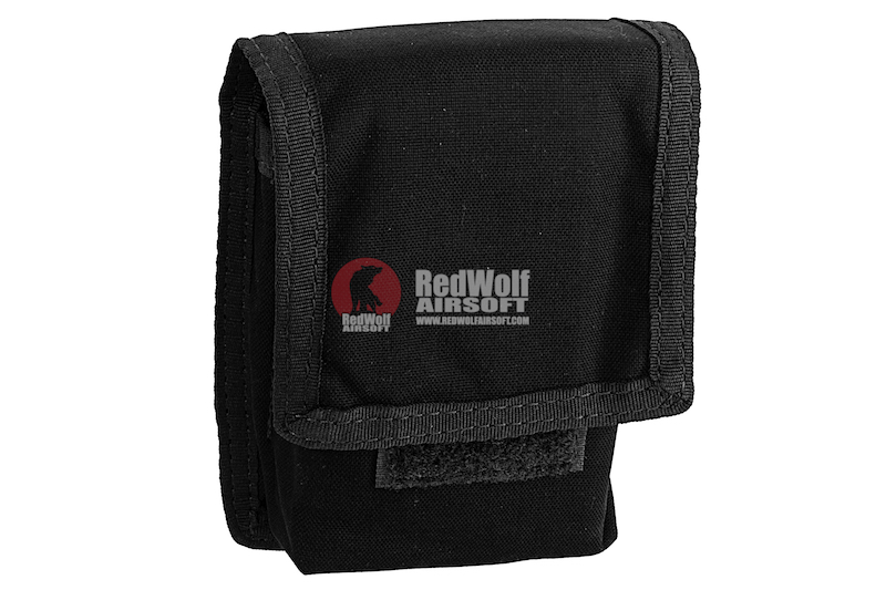 Silverback Cordura Double Magazine Molle Pouch for SRS - Black