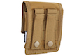 Silverback Cordura Double Magazine Molle Pouch for SRS - FDE