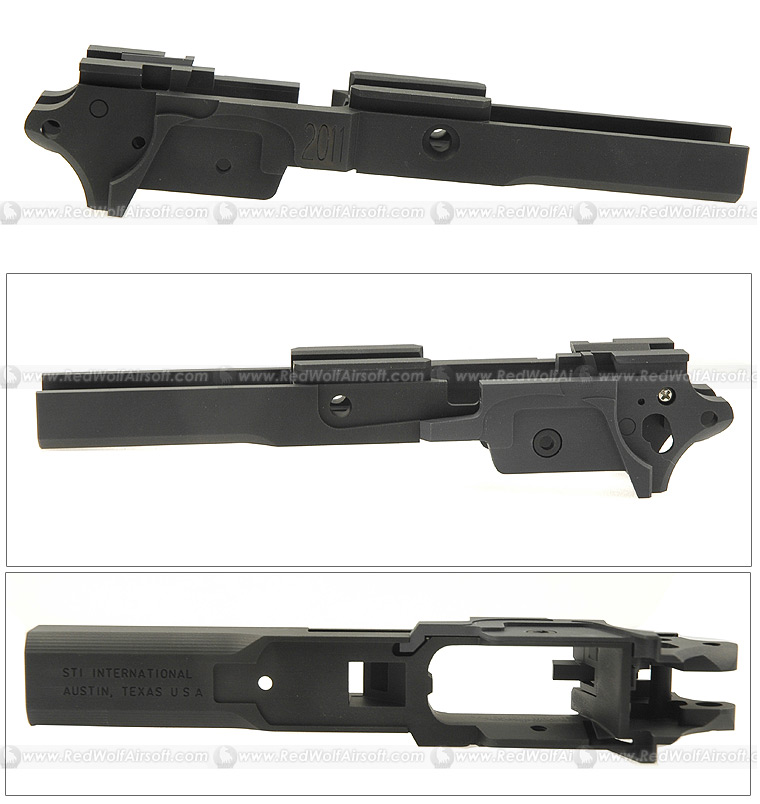Shooters Design CNC Chassis 5 inch Standard ST1 2011 (Black) <font color='red'>(Blowout Sale)</font>