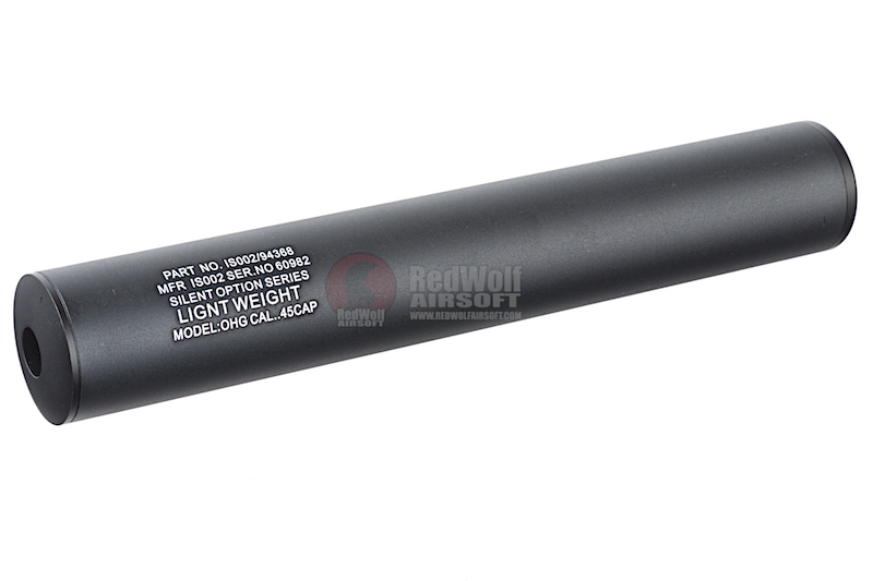 Spartan Doctrine LightWeight Silencer 40mm x 245