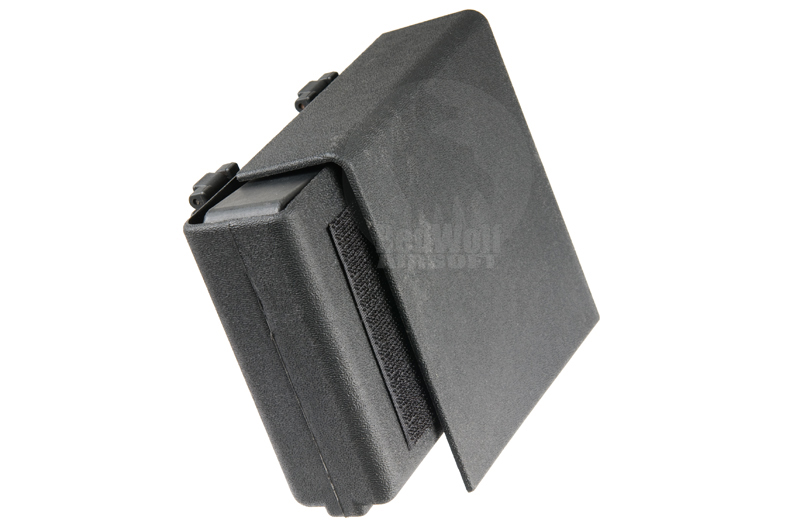 TMC Kydex Spring Loaded Pistol Magazine Carrier (Molle Tek-Lok / Black)