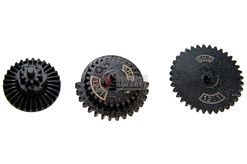SHS High Speed Gear Set for Version 2 & Version 3 Gearbox (12:1)