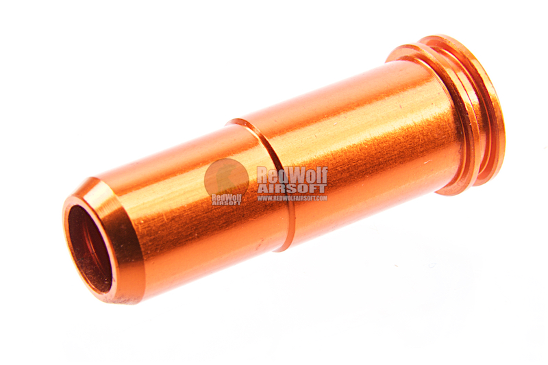 SHS Aluminum Air Seal Nozzle for SR25 / AR10 AEG Series (with O-Ring)