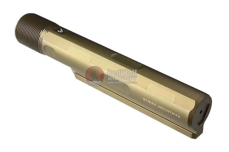 Strike Industries Aluminum 7075-T6 Advanced Receiver Extension for M4 GBBR Series - FDE