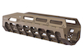 Strike Industries 6061 Aluminum Hayl Rail MLOK Handguard for Benelli M4 - FDE