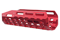 Strike Industries 6061 Aluminum Hayl Rail MLOK Handguard for Benelli M4 - Red