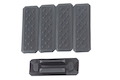 Strike Industries MLOK Cover V1 Style (5pcs) - BK