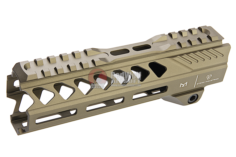 Strike Industries AR-15 Strike Rail for M4 GBBR Series- 7 inch / FDE