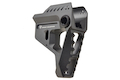 Strike Industries Pit Viper Stock for Strike Industries 7-Position Advanced Receiver Extension - Black