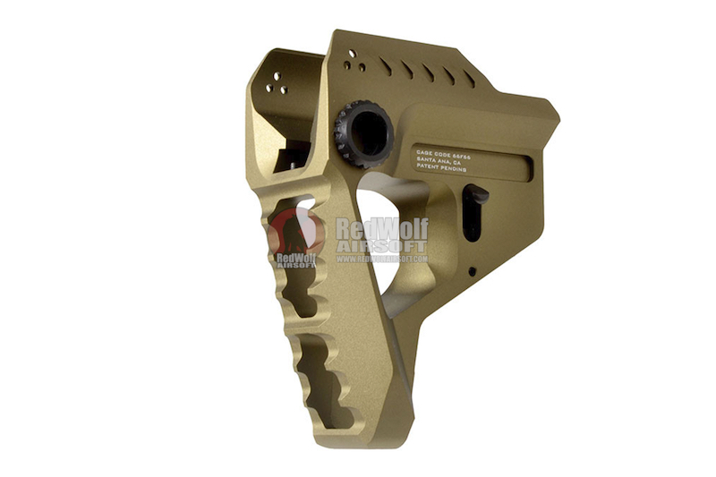 Strike Industries Pit Viper Stock for Strike Industries 7-Position Advanced Receiver Extension - FDE