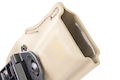 Safariland 5199 Open-Top Concealment Clip-On Holster for P320 M17 - FDE (Right Hand)
