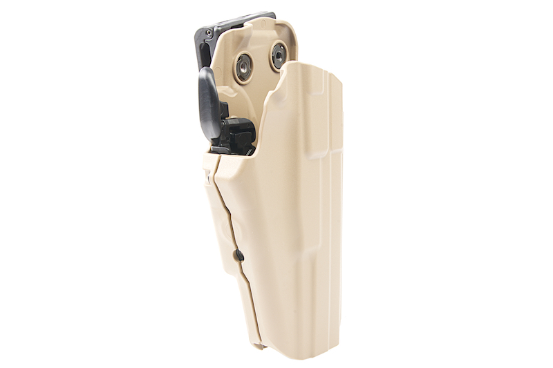 Safariland 579 GLS PRO-FIT Holster (w/ Belt Clip) (LONG) - FDE (Right Hand)