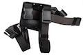 Safariland 6004 Tactical Leg Holster for G 17 w/ Surefire X200 Light - BK (Right Hand)