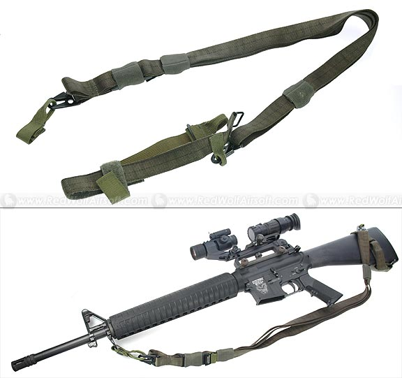 PANTAC Tactical Three Point Sling (OD)