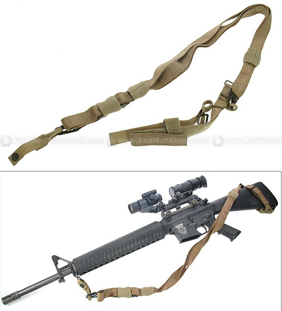 PANTAC Tactical Three Point Sling (Khaki)